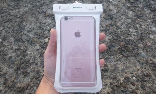 オウルテック スマートフォン( スマホ )防水・防塵ケースの使用イメージ iPhone6s PLUS