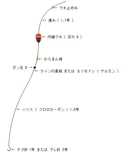 「 チヌ ( 黒鯛 ) 釣り入門 」 0499