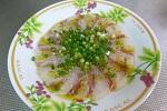 チヌ( クロダイ )料理レシピ「 魚のお刺身とカルパッチョの作り方 」.jpg