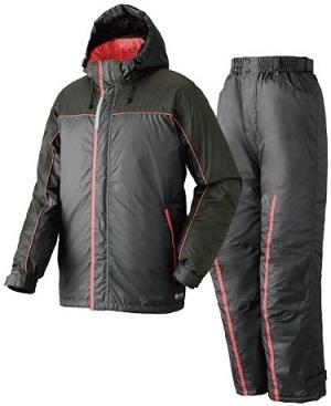 ロゴズ 透湿防水防寒スーツ ブラック