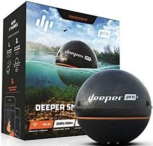 ワイヤレススマートGPS魚群探知機 Deeper Pro+