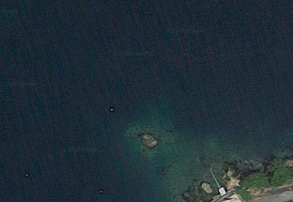釣り場の航空写真 3