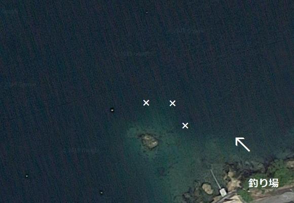 釣り場の航空写真 4