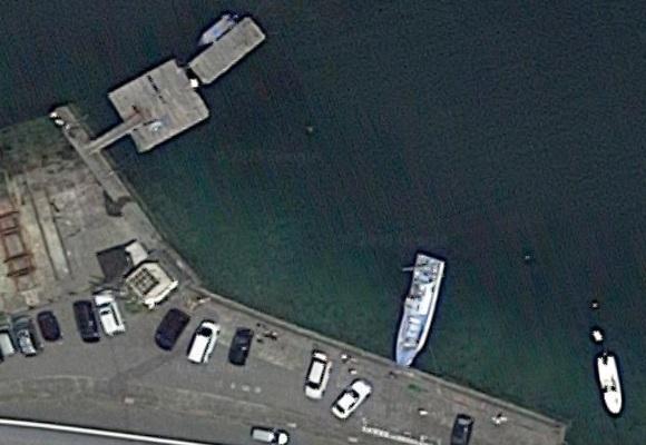 釣り場の航空写真 5