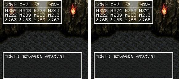ドラゴンクエスト�V そして伝説へ... 謎の洞窟 ちからのたね 2.jpg