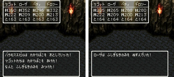 ドラゴンクエスト�V そして伝説へ... 謎の洞窟 ふしぎなきのみ.jpg