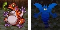 ドラゴンクエスト�V そして伝説へ... とげのむちを落とすだいおうガマとシャドー.jpg