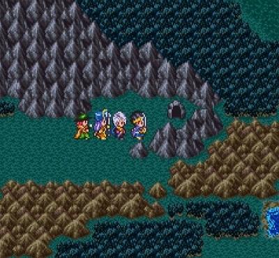 の ラダトーム 洞窟 北