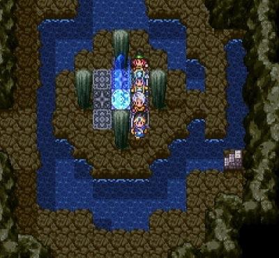 ドラゴンクエスト�V そして伝説へ... 隠しダンジョン前半の謎の洞窟 B5F.jpg